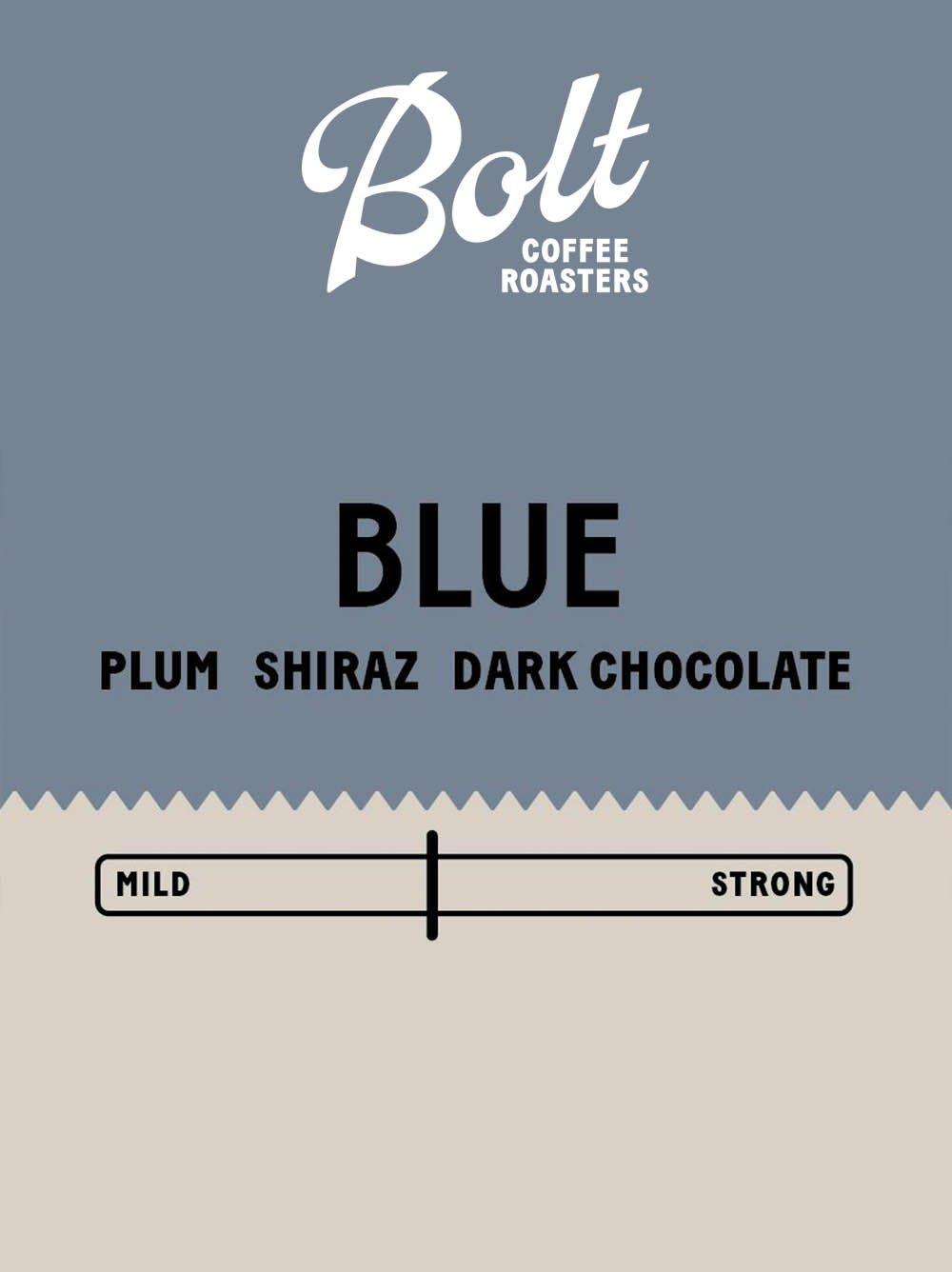 Bolt Coffee Blue