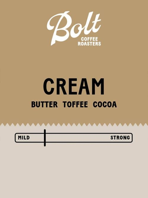 Bolt Coffee Cream