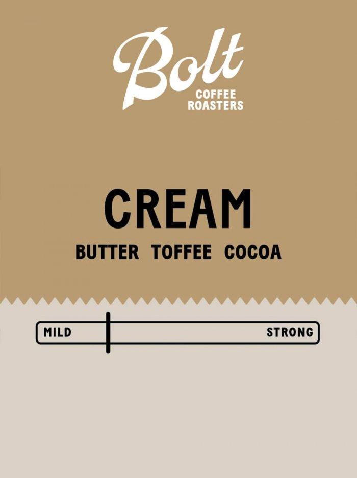 Bolt Coffee Cream
