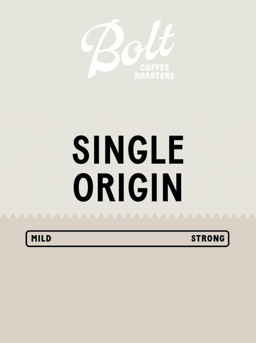 Bolt Coffee Blue Single Origin Surprise