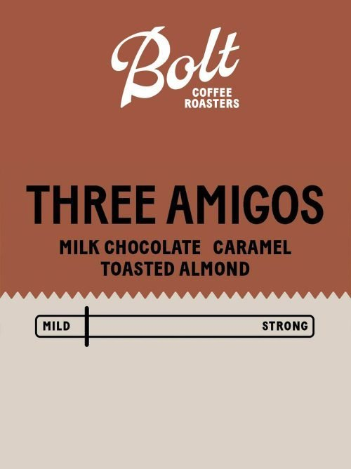 Bolt Coffee Three Amigos